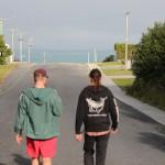 Zwei Geile Typen beim Laufen.