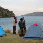 Manöverplanung am Campingplatz