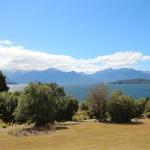 Hui, unsere erste Aussicht auf die Fjordlands!