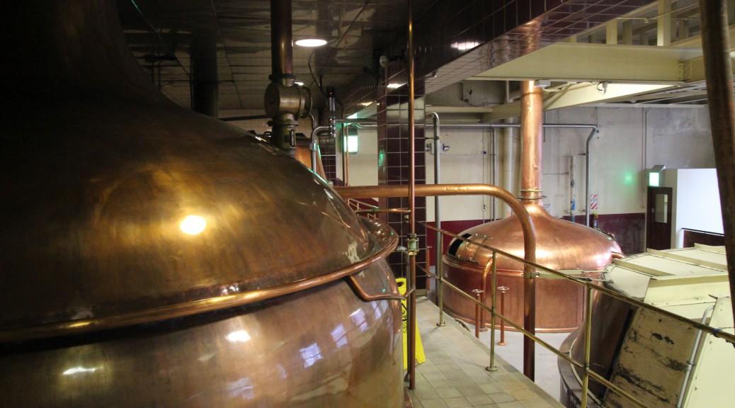 Kupferkessel der ehemaligen Speights-Brauerei