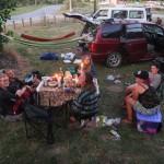 Unser Camp anner andren Stelle