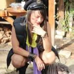 Aimee, durchgeknallte Kiwi-Maori