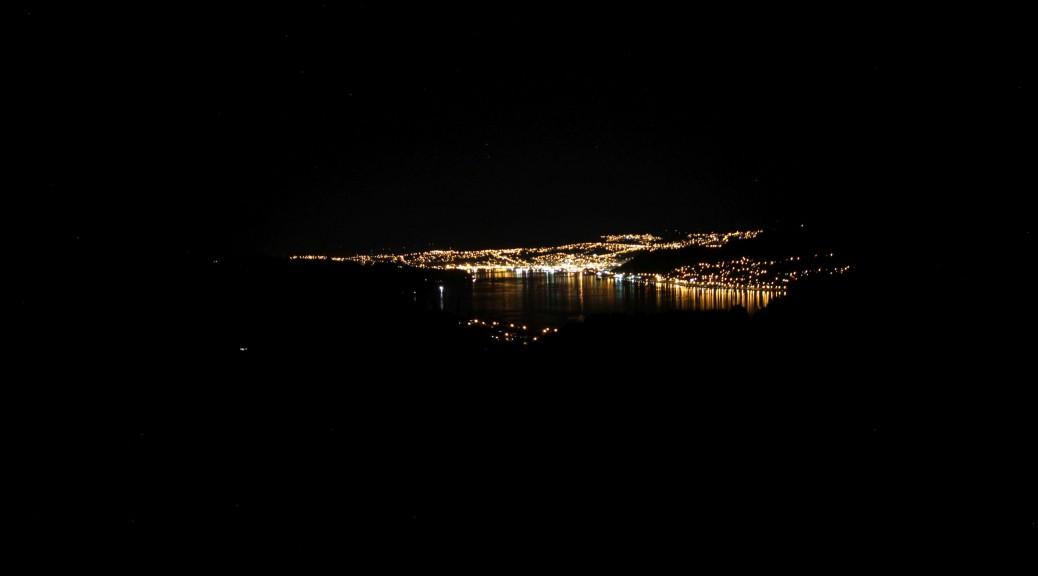 Dunedin bei Nacht!