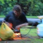Franz beim Brandstiften