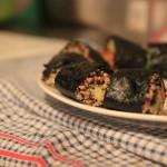 Improvisierte Quinoa-Sushi!
