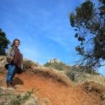 Beim Aufstieg zum Mount Mounganui.