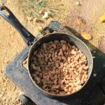 Und meine ersten selbstgemachten gebrannten Cashews.