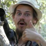 Franz freut sich über die Koalasichtung.