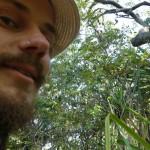 Franz auf einem Bild mit einem Koala.