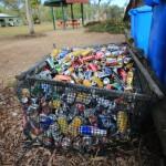 Recycling wird hier großgeschrieben.