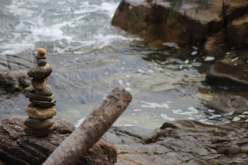 Ein paar Steine.
